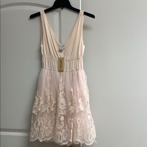 Light Pink / Cream Dress